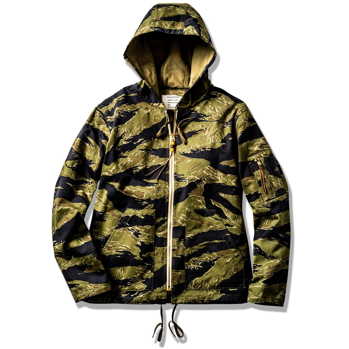 Tiger Camouflage Parka / Purple Fade