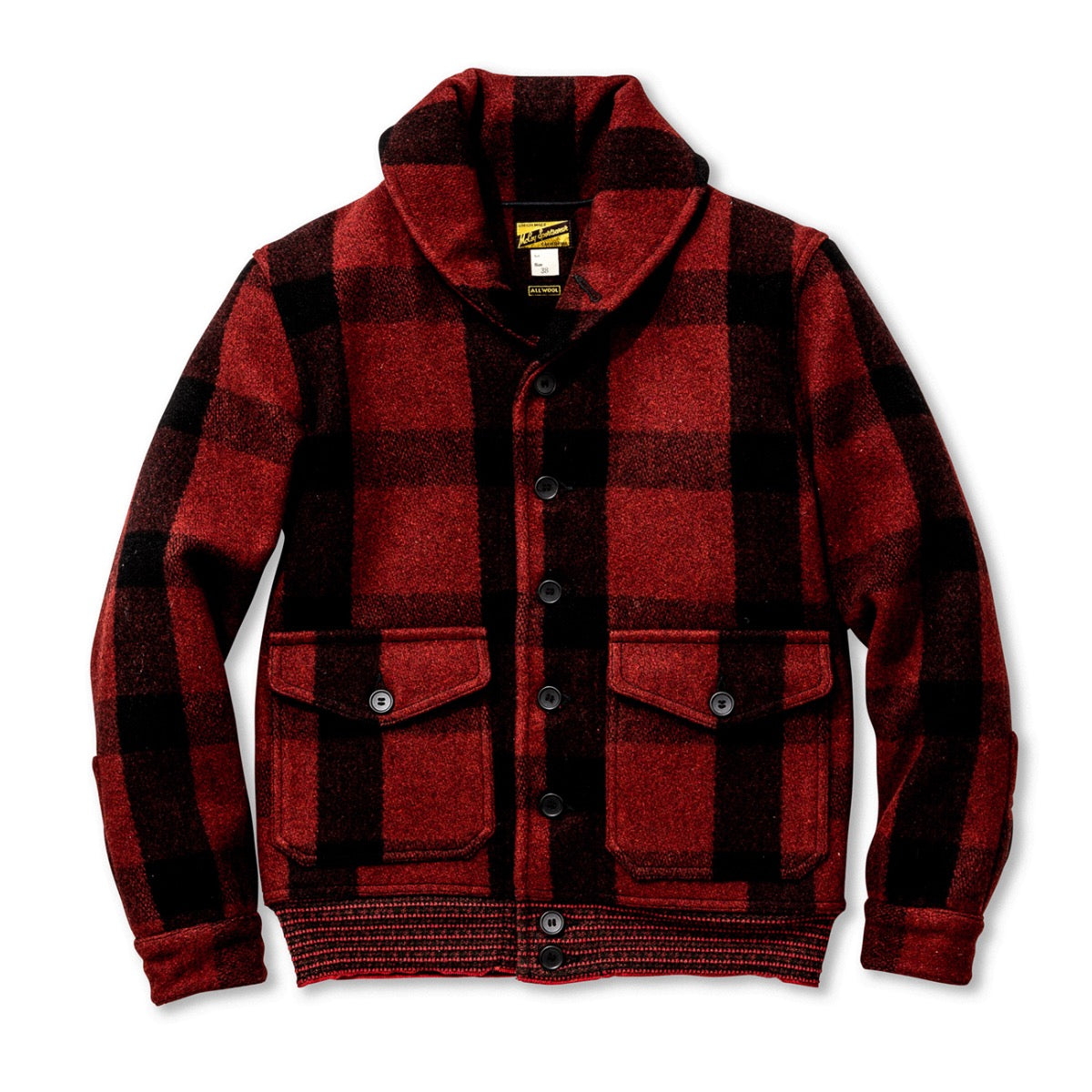 CCC Jacket (Red Plaid)