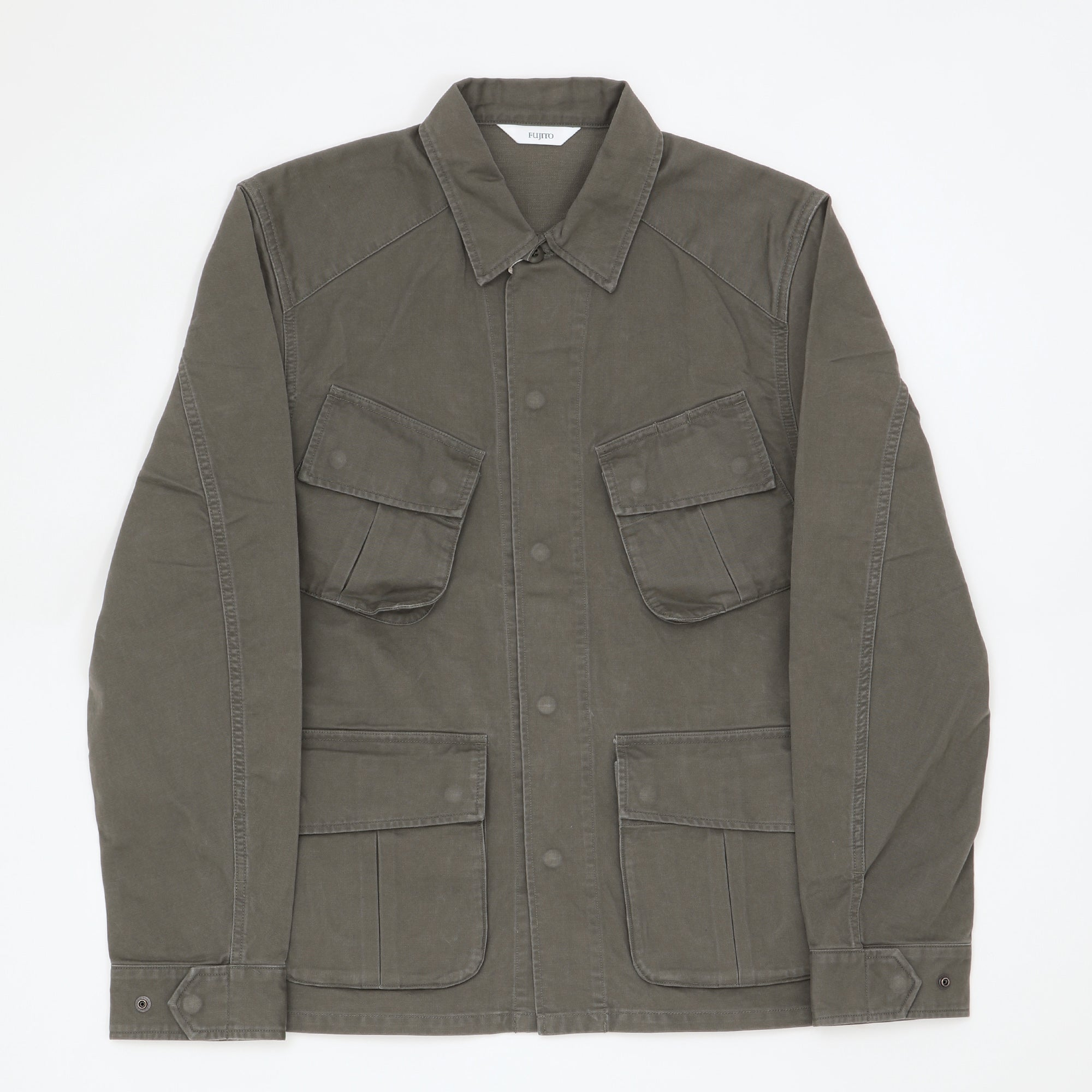 Jungle Fatigue Jacket (Olive Green)