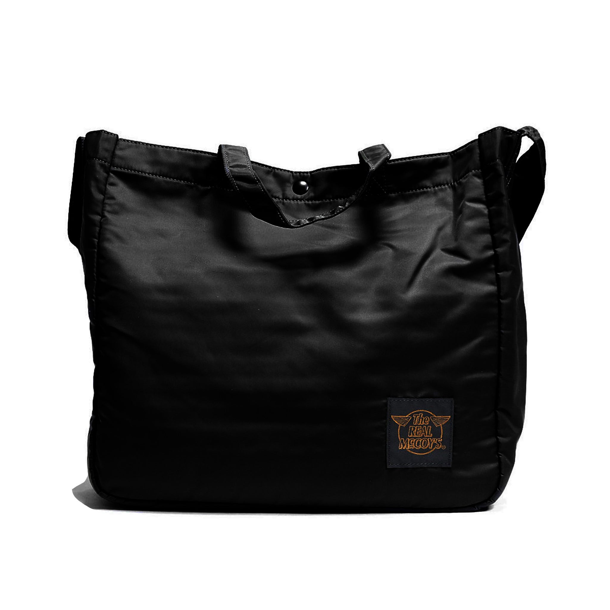 The Real McCoy's ECO Shoulder Bag (Black Cotton)