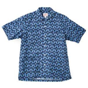 Battenwear Five Pocket Island Shirt Blue Print