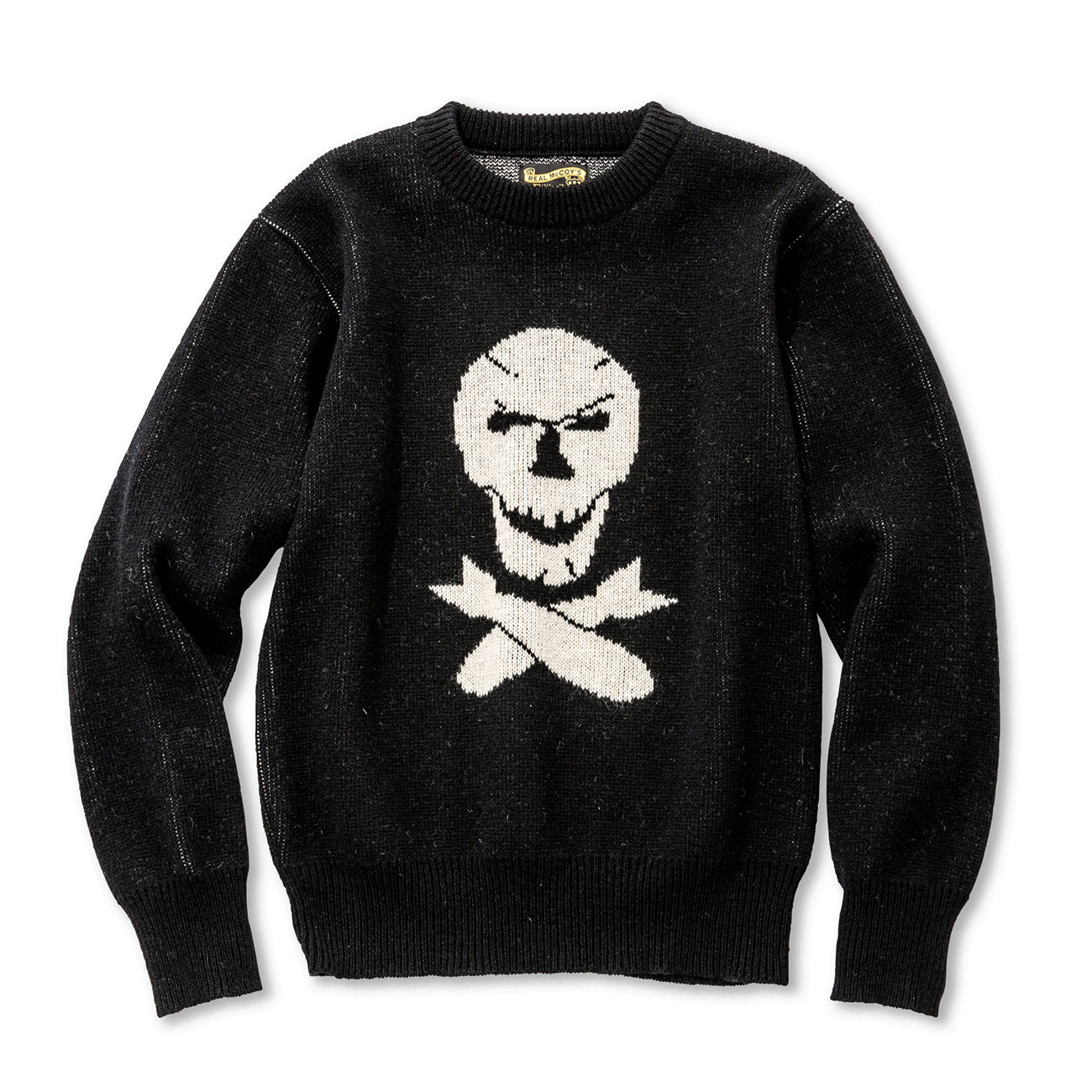 Military Jaquard Sweater / Jolly Roger