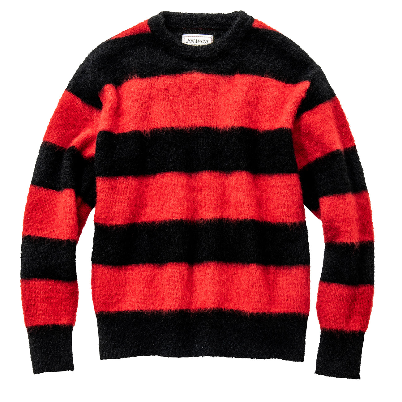 Joe McCoy Mohair Stripe Sweater
