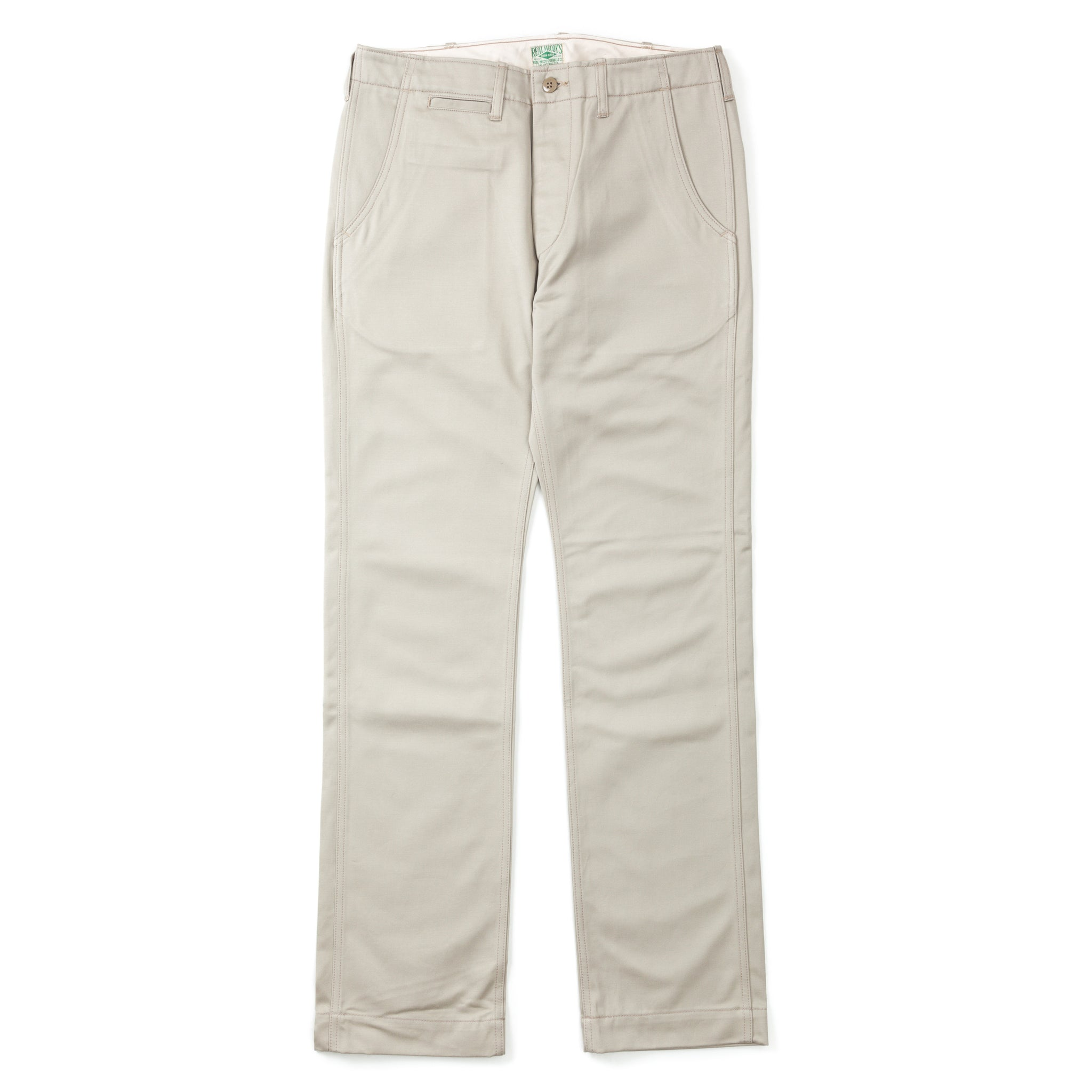 Cotton Trousers / Blue Seal