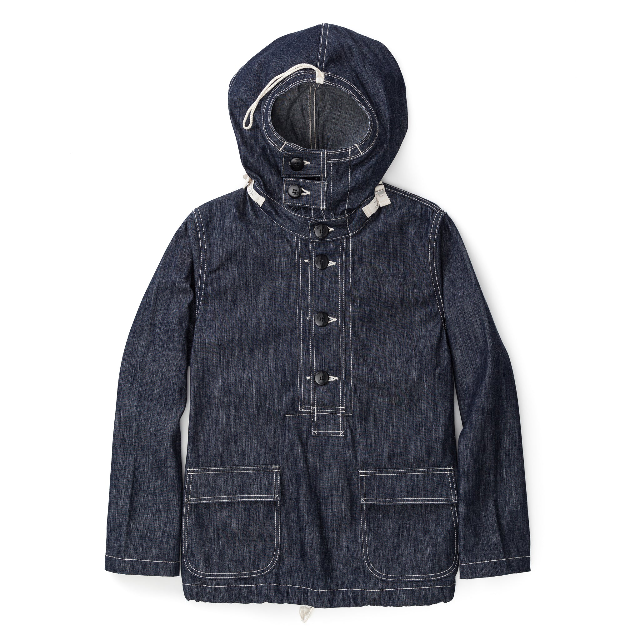 MJ13004-140 U.S. Navy Denim Parka