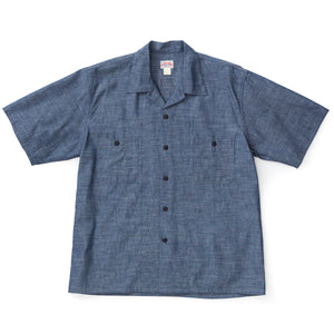 MJ19015-120 Prisoner Open Collar Shirt S/S