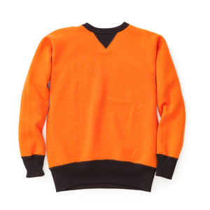 Two-Tone Crewneck Sweatshirt