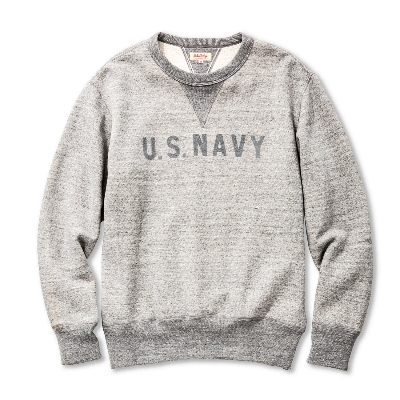Loopwheel Military Print Sweatshirt / U.S. Navy Reflector