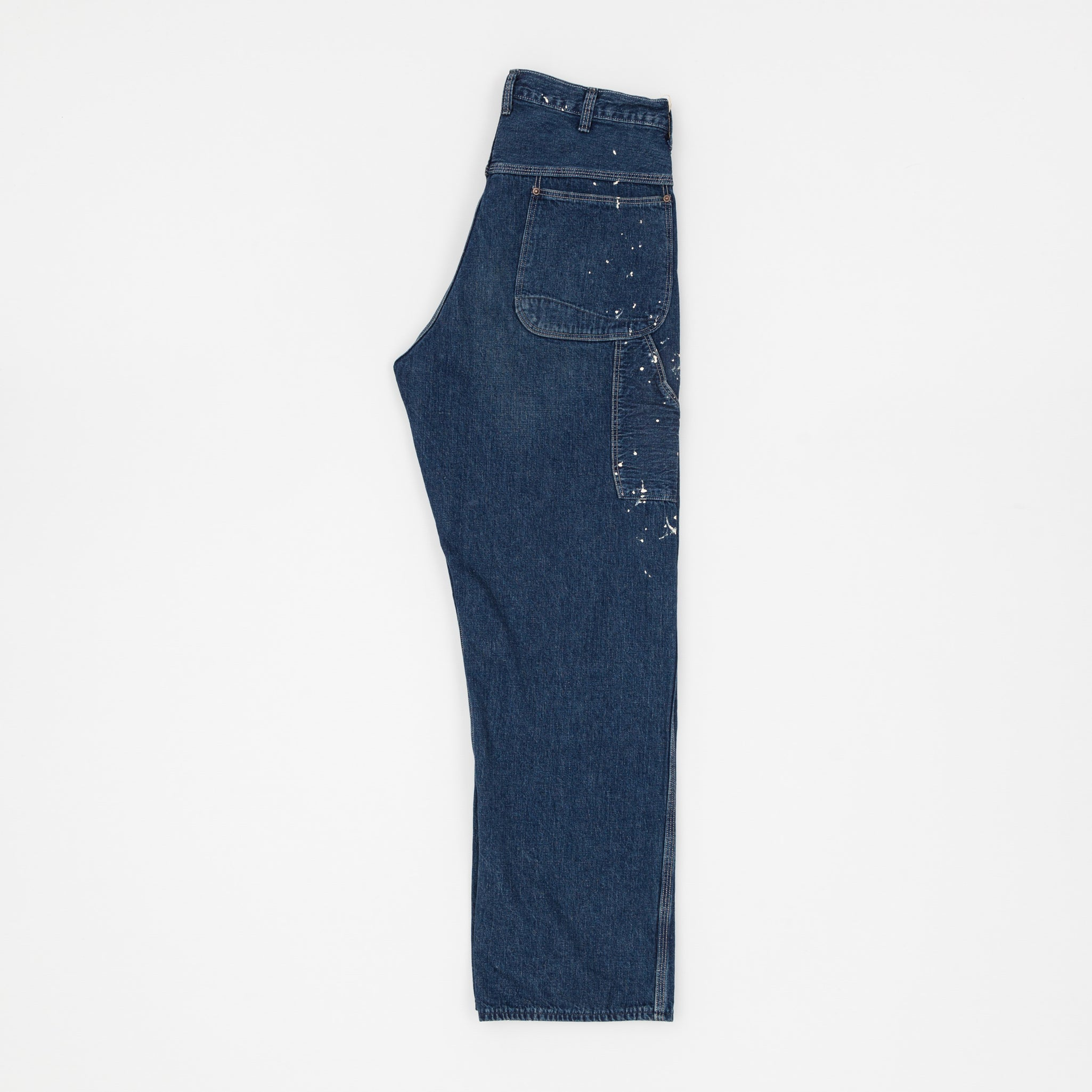 Denim Painter Pant - Paint Slash