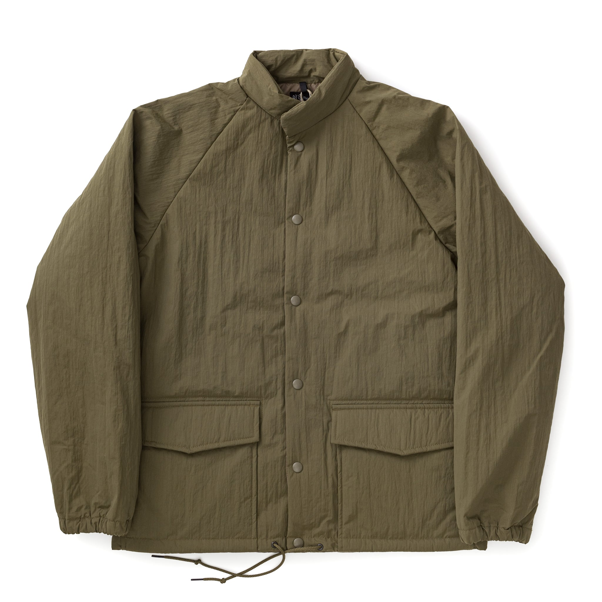 Water Repellent Puff Nylon Coach Jacket