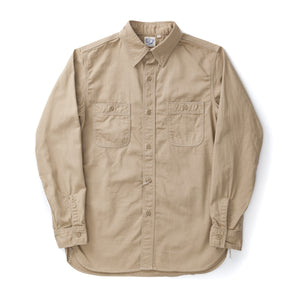 Cotton Twill Work Shirt