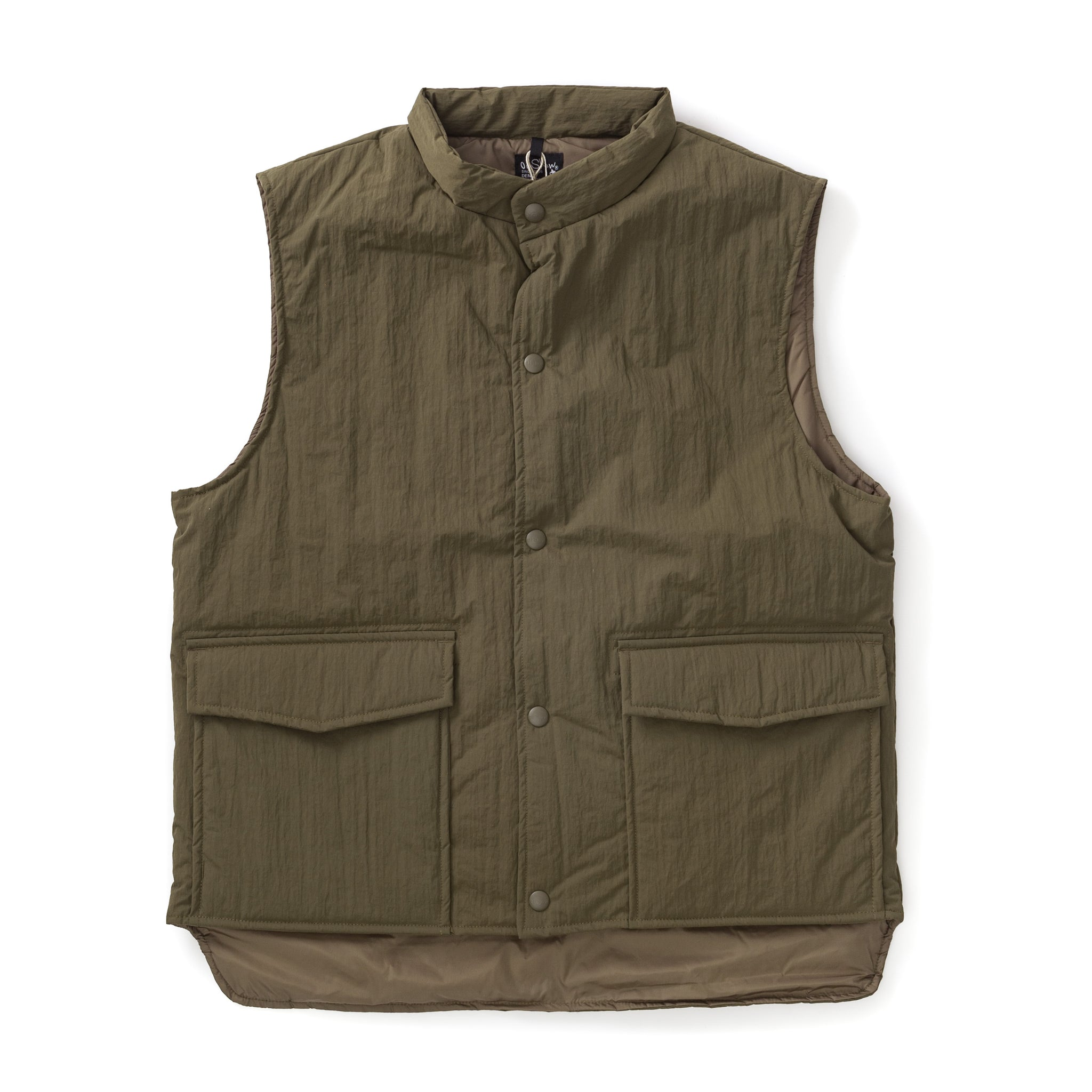 Water Repellent Puff Nylon Vest