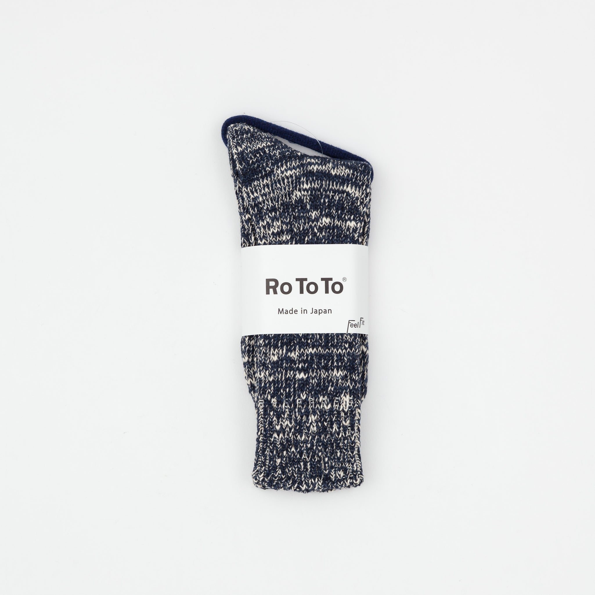 Low Guage Slub Crew Socks