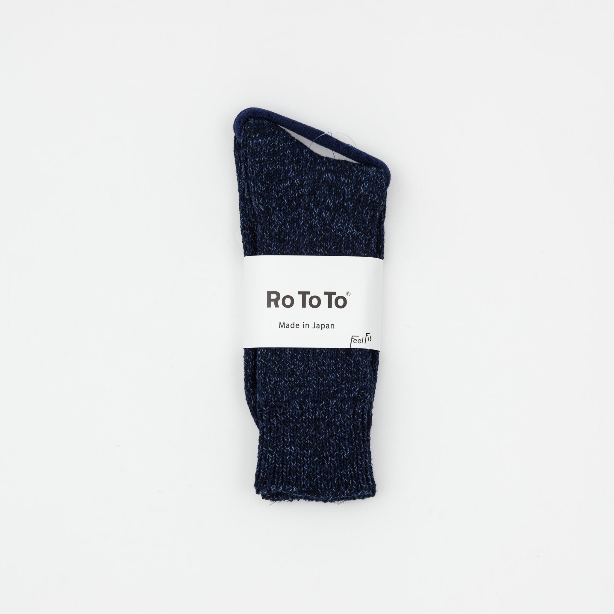 Denim Tone Crew Socks