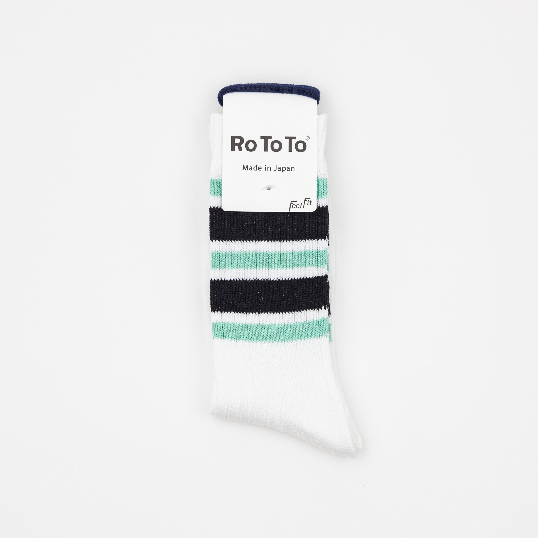 5 Stripes Ribbed Socks