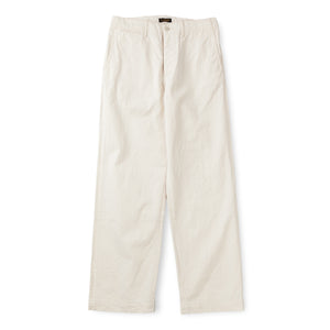 A Vontade Classic Chino Trousers (Wide Fit) Natural