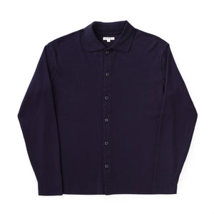 Long Sleeve Placket Polo