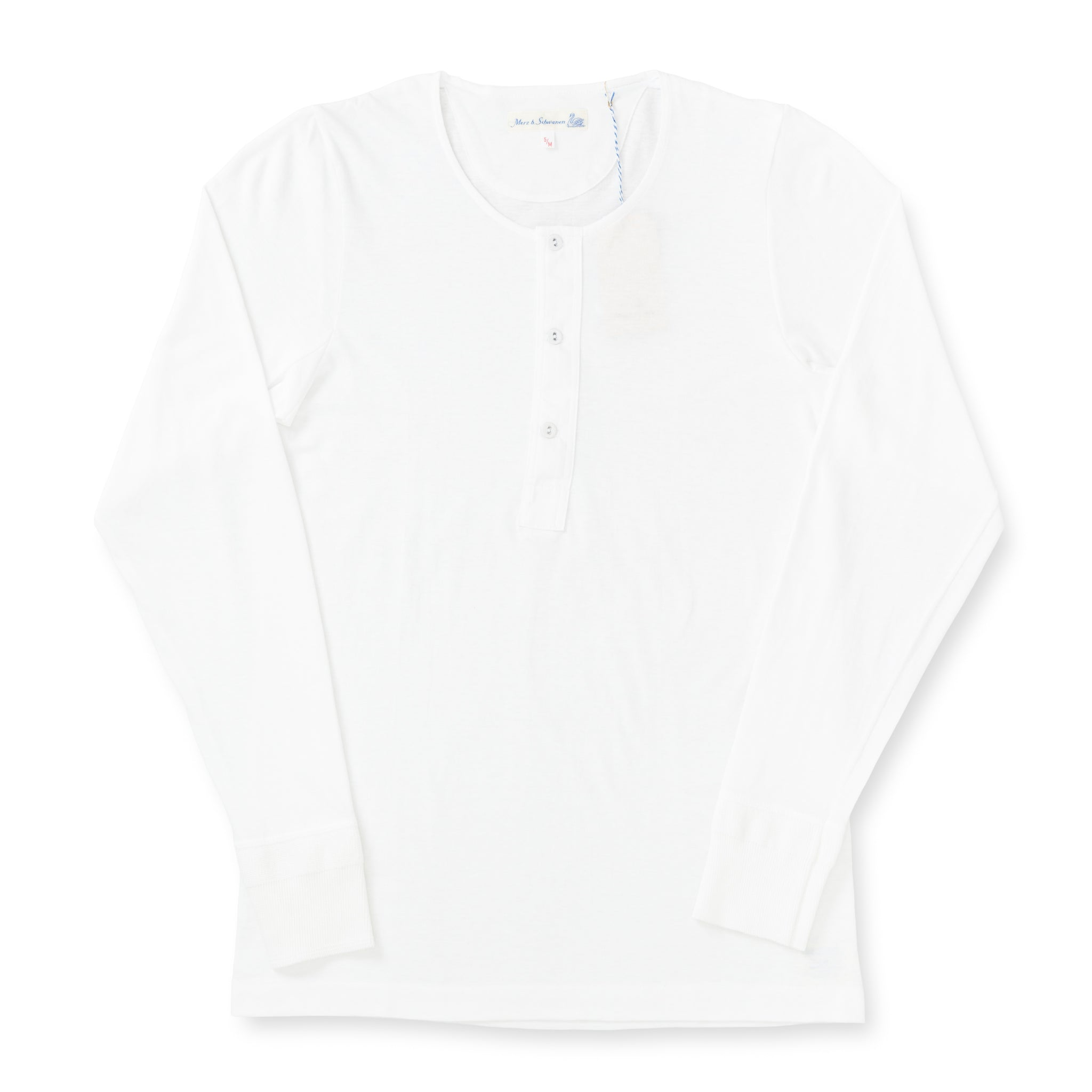 102 Button Facing Shirt - White