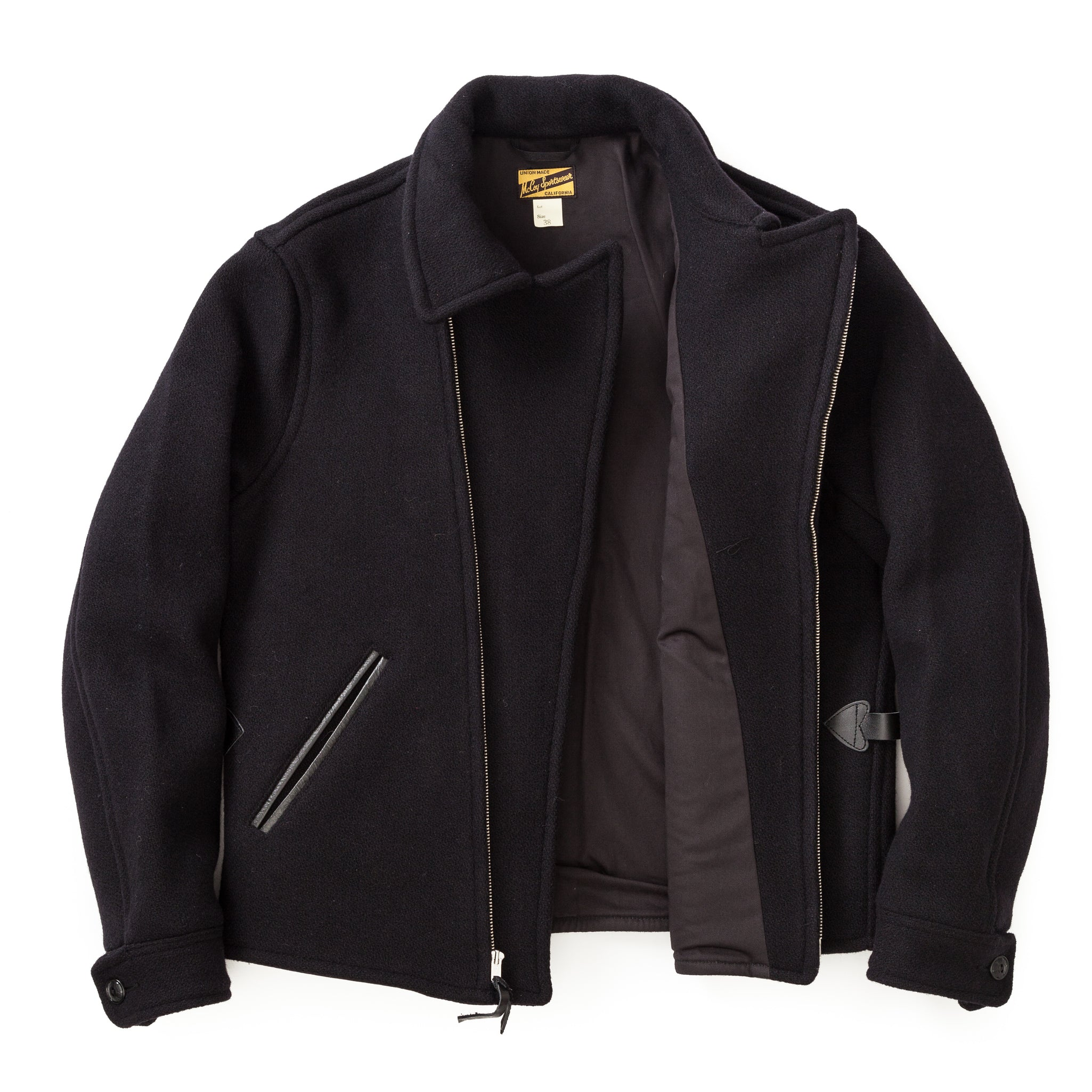 Double Breasted Wool Sports Jacket