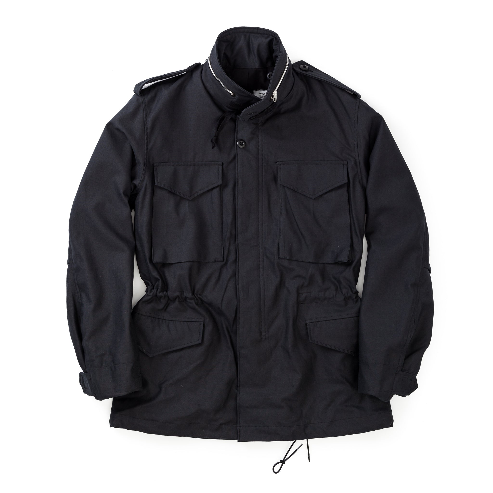 M-65 Field Jacket Black Over-Dye