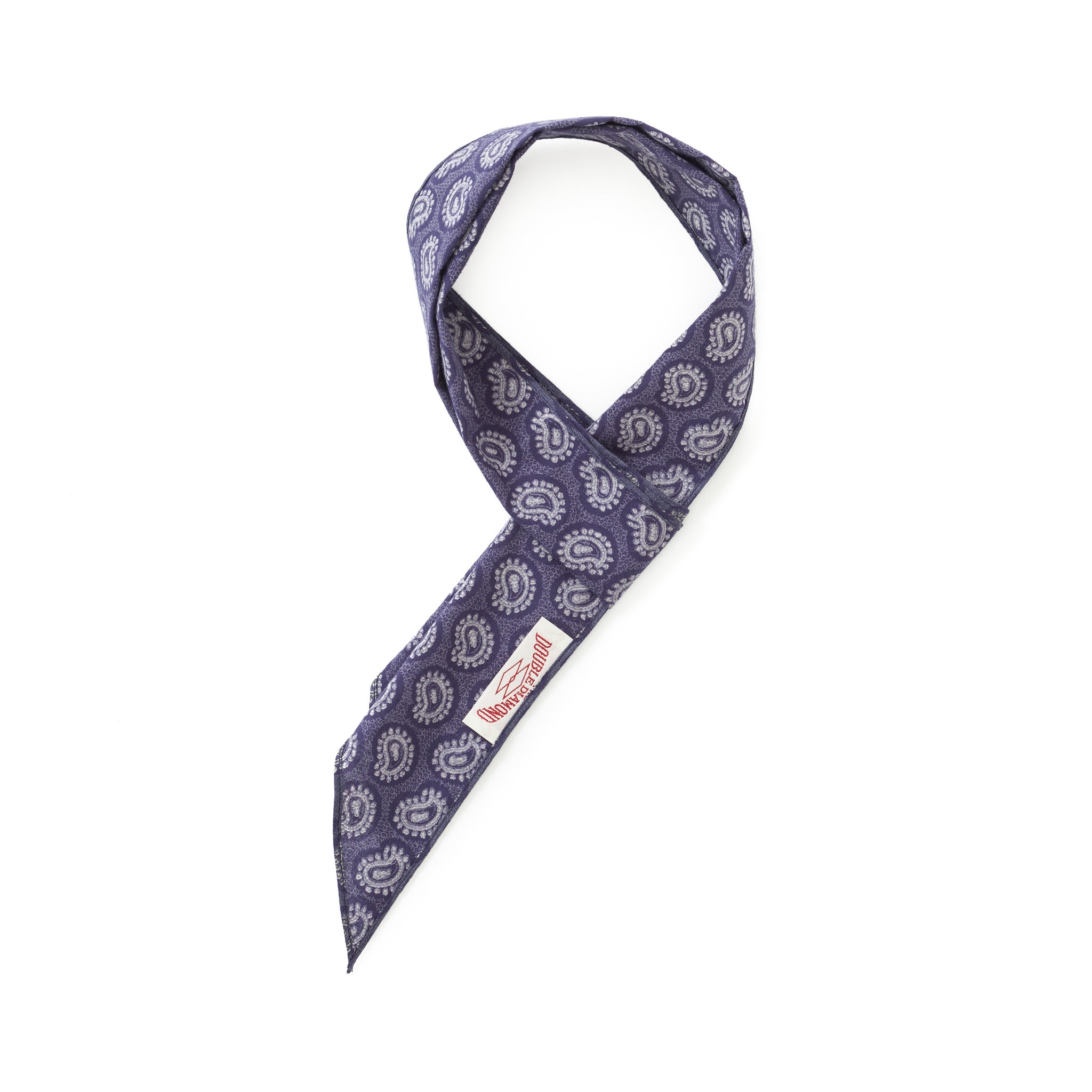 Cotton Paisley Scarf