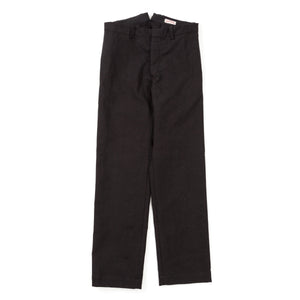 Double Diamond Linen Trousers