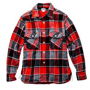 8HU Napped Flanel Shirt / Tongass Plaid