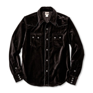 Joe McCoy Velvet Western Shirt