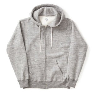 Zip-Up Hooded Sweatshirt