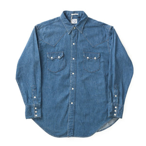 Used Denim Vintage Fit Western Shirt