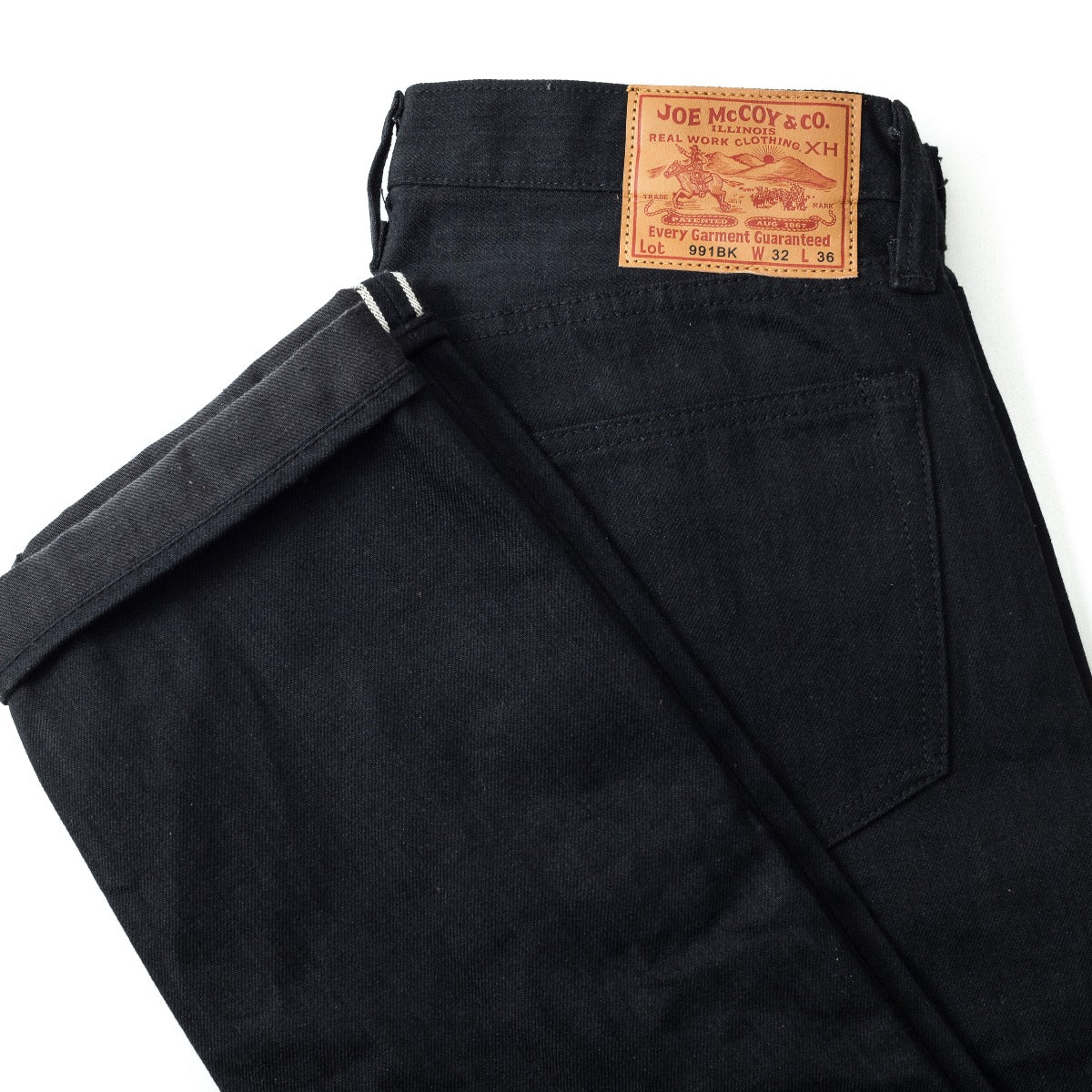 The Real McCoy's Joe McCoy Black Denim Pants