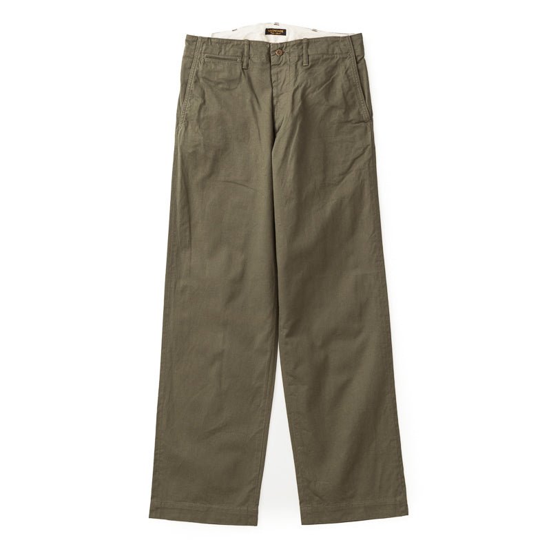 A Vontade Type 45 Chino Trousers (Wide Fit)