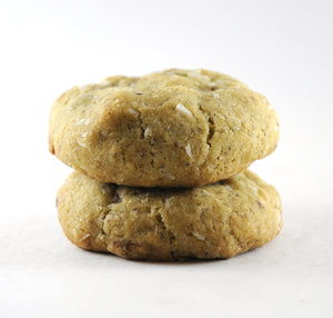coconut tamarind and thai spices vegan cookie