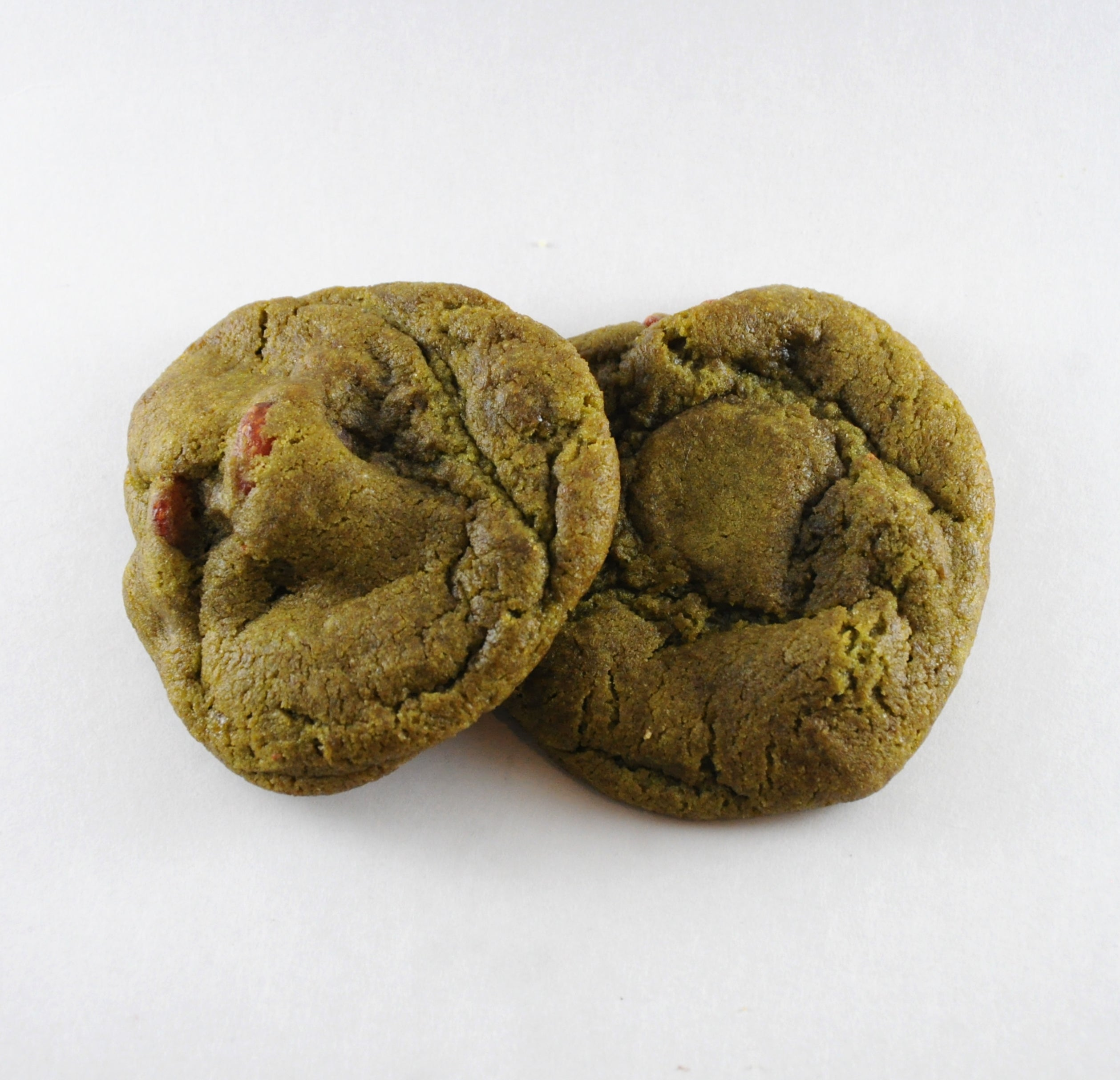 green zenvy japanese cookie organic match dried strawberries