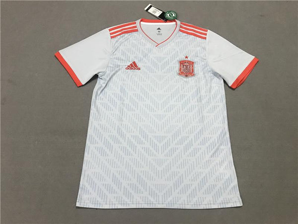 new york b0f91 1eb39 Spain away 2018 World Cup soccer jersey