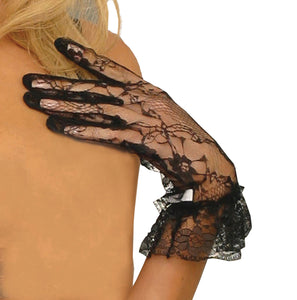 Lace Gloves - Black or White