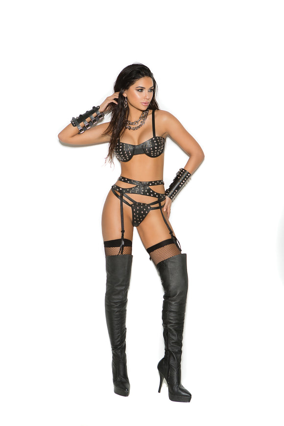 Elegant Moments Lingerie - Amazonian Queen in Leather