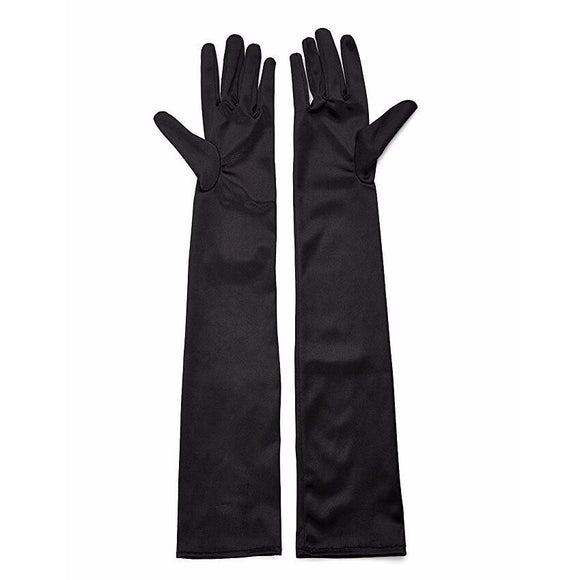 Sensual gloves. Red, apricot, gray or black