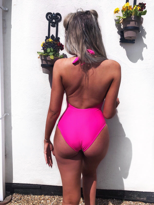 'HOT PINK' SWIMSUIT