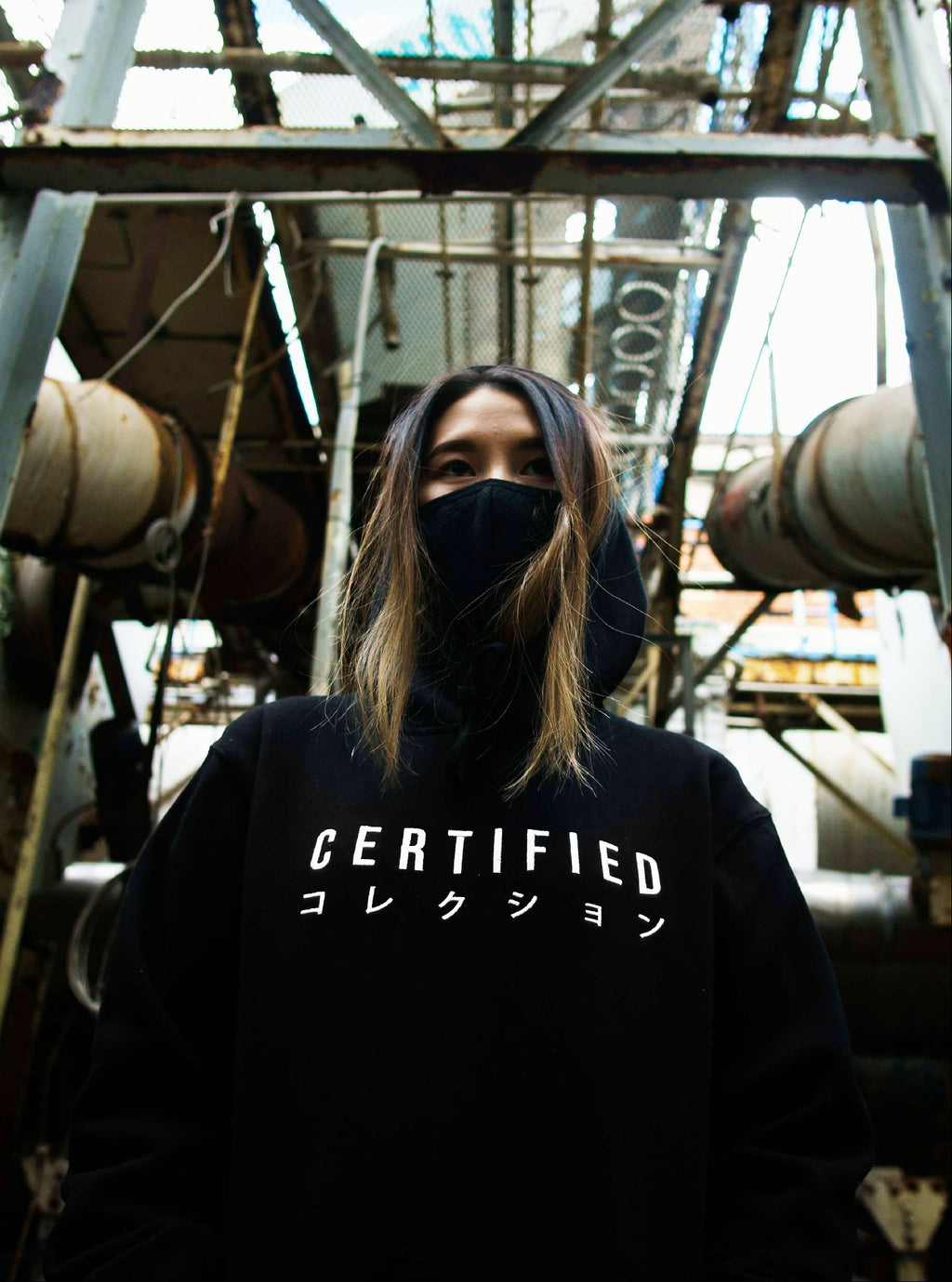 EMBROIDERED LOGO HOODIE - CERTIFIED COLLECTION