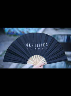 PREMIUM FOLDING FAN - CERTIFIED COLLECTION