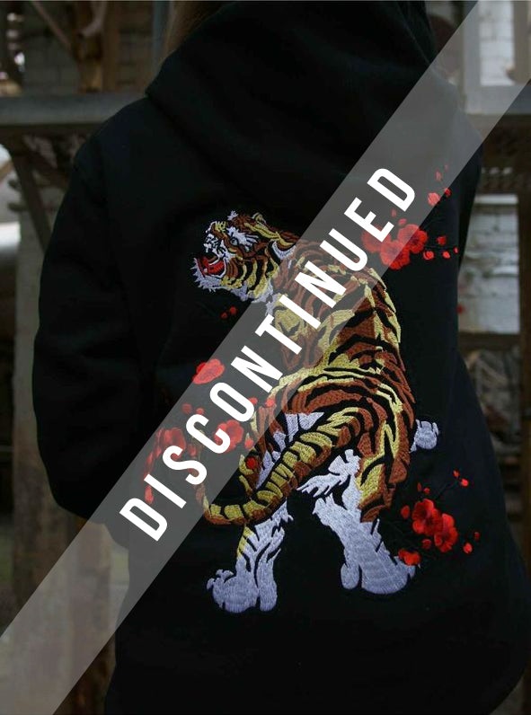 EMBROIDERED TIGER HOODIE - CERTIFIED COLLECTION