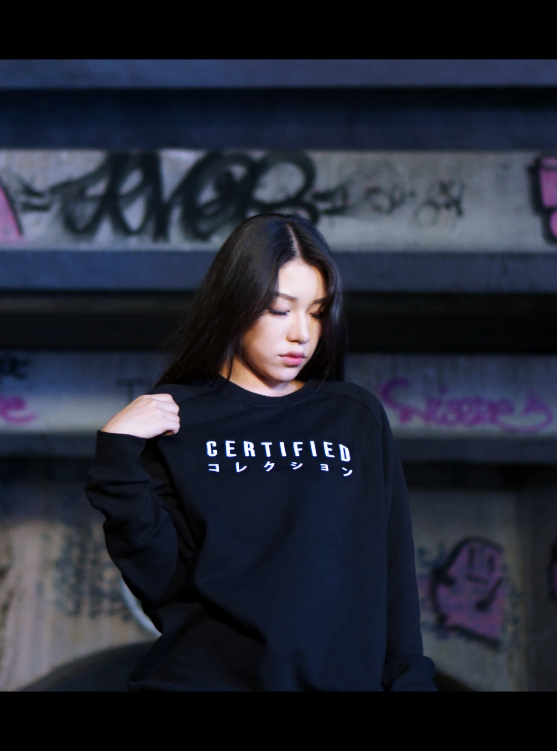 EMBROIDERED LOGO JUMPER - CERTIFIED COLLECTION
