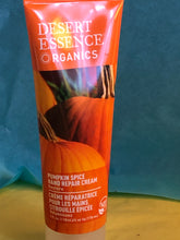 Load image into Gallery viewer, Desert Essence Pumpkin Spice Hand Cream