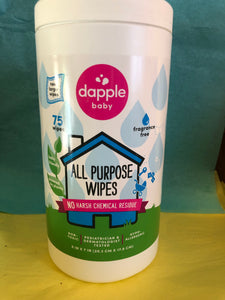 All Purpose wipes, baby safe