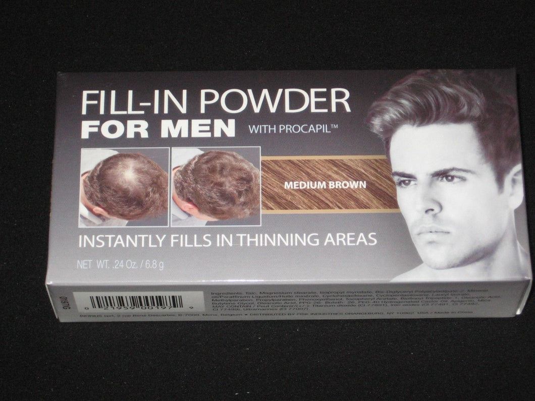 Cover Your Gray Fill In Powder For Men- MEDIUM BROWN