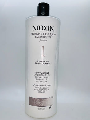 Nioxin Scalp Therapy Conditioner 1 Fine Hair Normal To Thin-Looking 33.8 oz