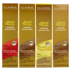 Clairol Professional Soy4Plex Permanent Hair Color 4RR Light Reddest Brown 2 oz