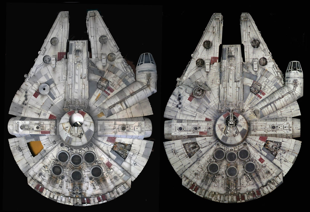 Archive-X and original Falcon Comparison