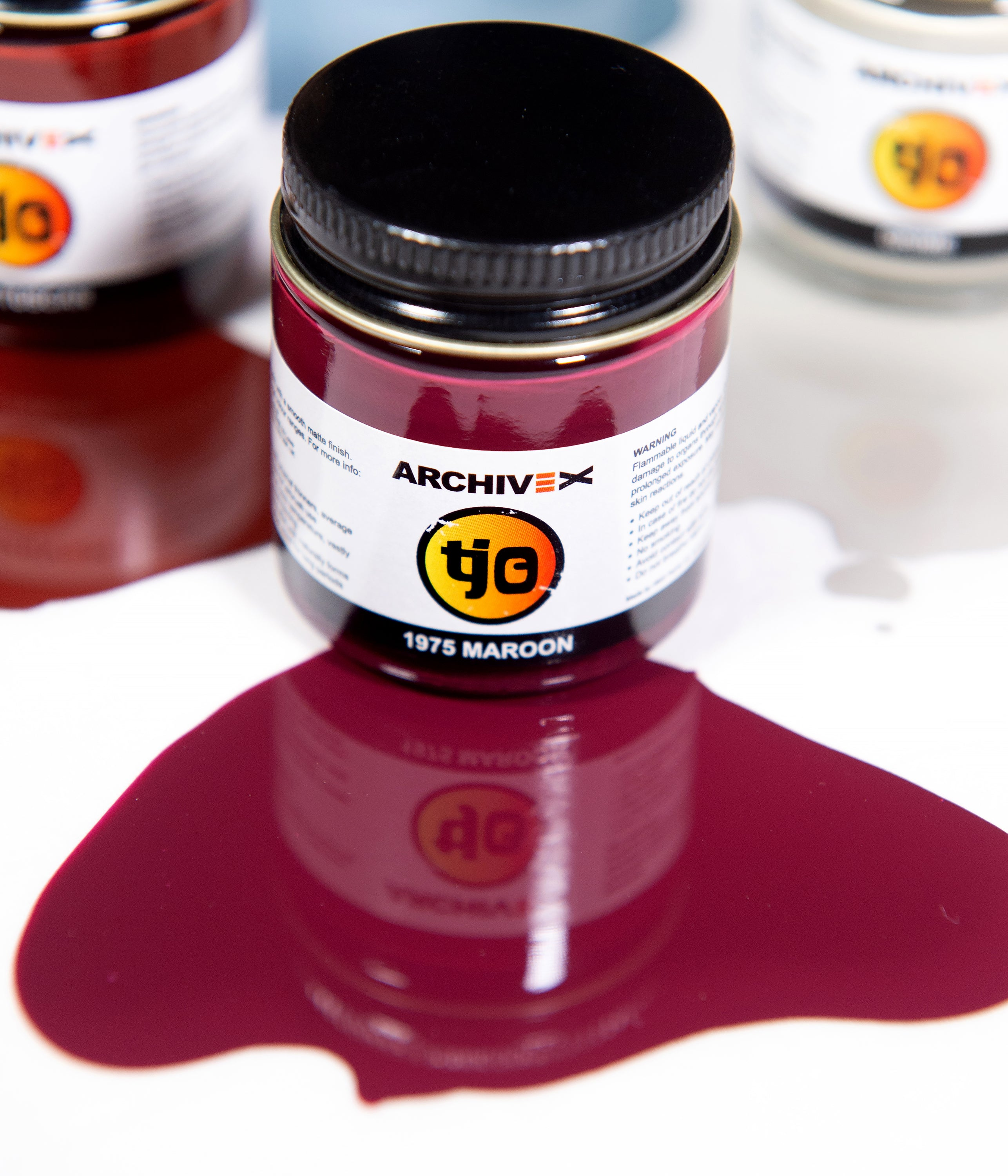 EX-049 1975 Maroon 30ml Enamel Paint